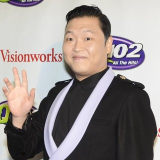 PSY in Q102's Jingle Ball 2012