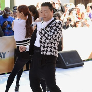 PSY in PSY Performing Live as Part of NBC's Today Show Concert Series