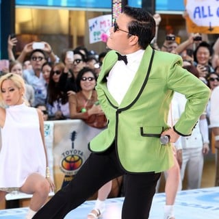 PSY in PSY Performs Gangnam Style Live as Part of NBC's Today Show Summer Concert