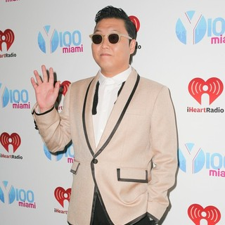 PSY in Y100's Jingle Ball 2012 - Arrivals
