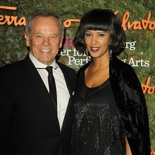 Wolfgang Puck, Gelila Assefa in Opening Night Gala of The Wallis Annenberg Center for The Performing Arts