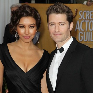 Renee Puente, Matthew Morrison in 19th Annual Screen Actors Guild Awards - Arrivals