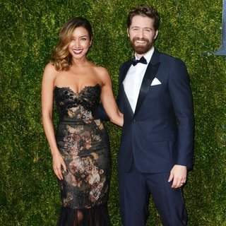 Renee Puente, Matthew Morrison in American Theatre Wing's 69th Annual Tony Awards - Red Carpet Arrivals