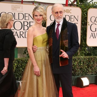 Missi Pyle, James Cromwell in The 69th Annual Golden Globe Awards - Arrivals