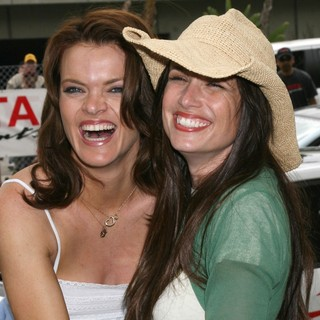 Missi Pyle, Shawnee Smith in Toyota Long Beach Grand Prix - Pro-Celeb Race 2008
