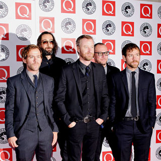 The National in The Q Awards 2010 - Arrivals