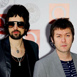 Serge Pizzorno, Tom Meighan, Kasabian in The Q Awards 2010 - Arrivals