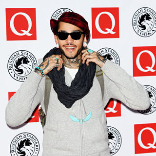 Travis McCoy in The Q Awards 2010 - Arrivals