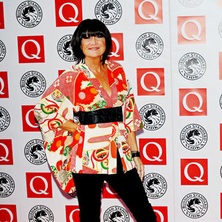 Sandie Shaw in The Q Awards 2010 - Arrivals