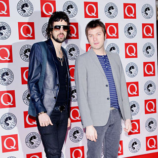Serge Pizzorno in The Q Awards 2010 - Arrivals