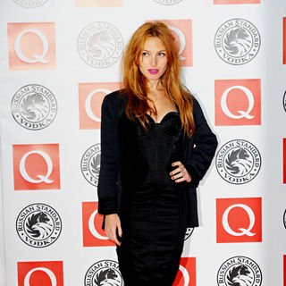 Josephine de la Baume in The Q Awards 2010 - Arrivals