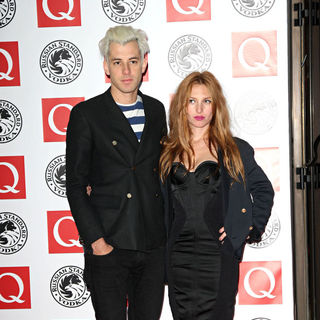 Mark Ronson, Josephine de la Baume in The Q Awards 2010 - Arrivals