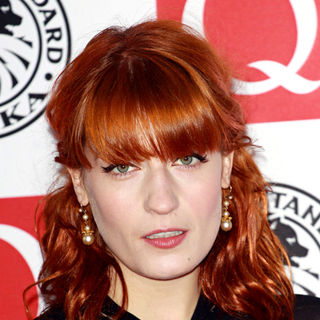 Florence Welch, Florence and the Machine in The Q Awards 2010 - Arrivals