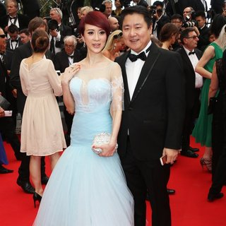 Jin Qiao Qiao, Dong Yu in 67th Cannes Film Festival - Opening Ceremony