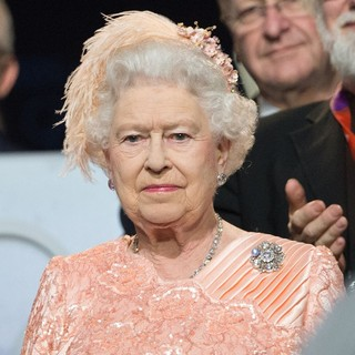 Queen Elizabeth II in The Opening Ceremony of The London 2012 Olympic Games