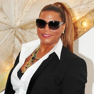 Queen Latifah in Net-a-Porter, Mr Porter and Dolce and Gabbana Party