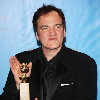 Quentin Tarantino in 70th Annual Golden Globe Awards - Press Room