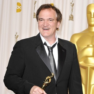 Quentin Tarantino in The 85th Annual Oscars - Press Room