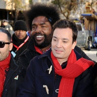 Questlove, Jimmy Fallon in 87th Macy's Thanksgiving Day Parade