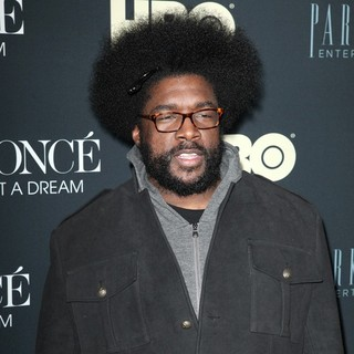 The Roots in Beyonce: Life Is But a Dream New York Premiere - questlove-premiere-beyonce-life-is-but-a-dream-01