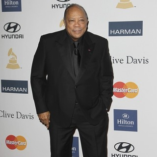 Quincy Jones in Clive Davis and The Recording Academy's 2013 Pre-Grammy Gala and Salute to Industry Icons