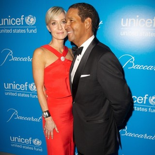 Hilary Quinlan, Bryant Gumbel in 8th Annual UNICEF Snowflake Ball