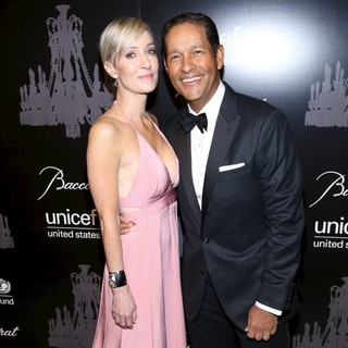 Hilary Quinlan, Bryant Gumbel in The U.S. Fund for UNICEF Hosts Its Ninth Annual UNICEF Snowflake Ball