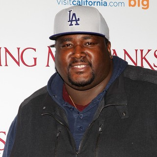 Quinton Aaron in Saving Mr. Banks Los Angeles Premiere - quinton-aaron-premiere-saving-mr-banks-01