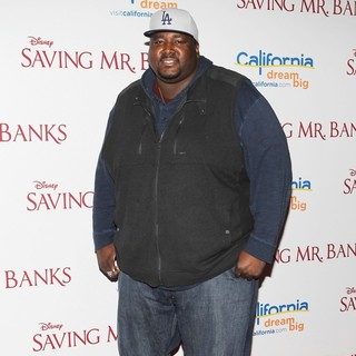Quinton Aaron in Saving Mr. Banks Los Angeles Premiere - quinton-aaron-premiere-saving-mr-banks-02