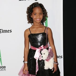 Quvenzhane Wallis in 16th Annual Hollywood Film Awards Gala