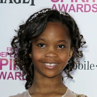 Quvenzhane Wallis in 2013 Film Independent Spirit Awards - Arrivals