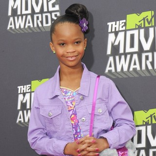 Quvenzhane Wallis in 2013 MTV Movie Awards - Arrivals