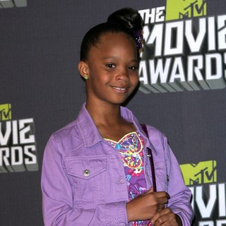 Quvenzhane Wallis in 2013 MTV Movie Awards - Press Room