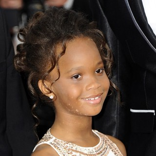 Quvenzhane Wallis in Madagascar 3: Europe's Most Wanted Premiere- During The 65th Cannes Film Festival
