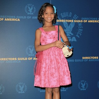 Quvenzhane Wallis in 65th Annual Directors Guild of America Awards - Press Room