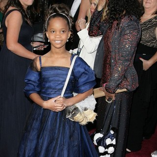 Quvenzhane Wallis in The 85th Annual Oscars - Red Carpet Arrivals