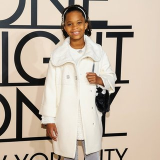 Quvenzhane Wallis in Armani One Night Only Event