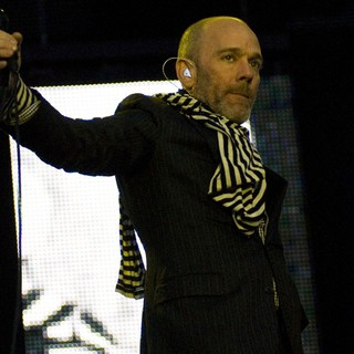 Michael Stipe, R.E.M. in The 2008 T in The Park Festival - Day 3
