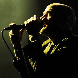 Michael Stipe, R.E.M. in R.E.M. Perform Live in Concert at Siemens Arena