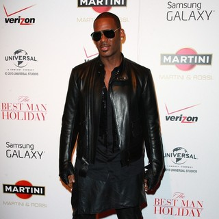 R. Kelly - New York Premiere of The Best Man Holiday