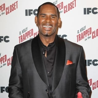 R. Kelly in Special Private Screening for The All-New Chapters of TRAPPED IN THE CLOSET Hosted by IFC