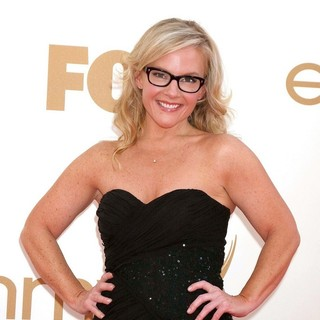 Rachael Harris in The 63rd Primetime Emmy Awards - Arrivals