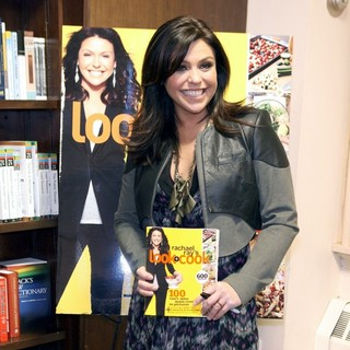 Rachael Ray in Rachael Ray Promoting Her Book Look + Cook
