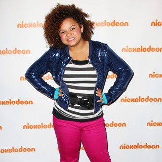 Rachel Crow in Nickelodeon's Upfront 2012