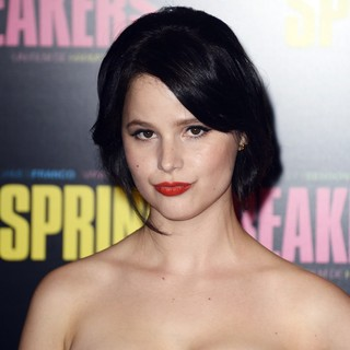 Rachel Korine in Paris Premiere of Spring Breakers - Red Carpet