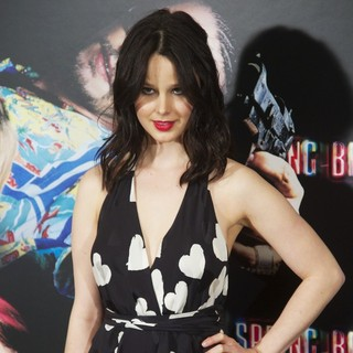 Rachel Korine in Spring Breakers Photocall