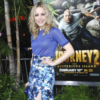 Rachel McAdams in The Los Angeles Premiere of Journey 2: The Mysterious Island - Arrivals