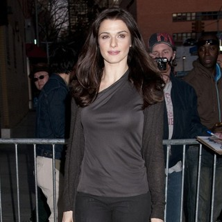 Rachel Weisz in Rachel Weisz Arriving at The Daily Show Studio