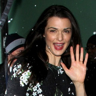 Rachel Weisz in Rachel Weisz at ABC Studios for Good Morning America
