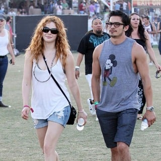 Rachelle Lefevre - Celebrities at The 2012 Coachella Valley Music and Arts Festival - Week 2 Day 3